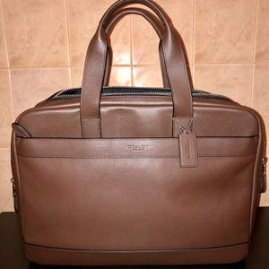 COACH Briefcase Leather Bag BRAND NEW